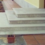 imagen de escalera de granito